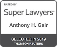 Anthony H. Gair Super Lawyers 2019