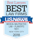 Best Law Firms - Medical Malpractice - 2018