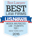 Best Law Firms - Medical Malpractice - 2016