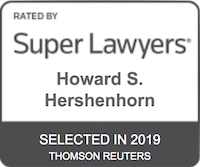 Howard S. Hershenhorn Super Lawyers Selected 2019