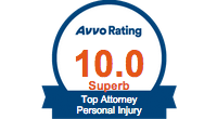 Avvo Rating 10.0 Superb. Top Attorney Personal Injury