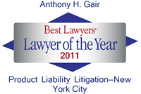 Best Lawyers Lawyer of the Year 2011
