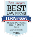 Best Law Firms - Medical Malpractice 2014