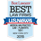 Best Law Firms - Medical Malpractice 2015