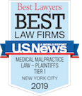 Best Law Firms - Medical Malpractice 2019