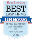 Best Law Firms - Medical Malpractice - 2017
