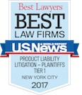Best Law Firms 2017 - Product Liability