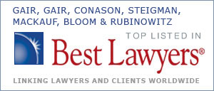 Gair, Gair, Conason, Steigman, Mackauf, Bloom & Rubinowitz - Top Listed in Best Lawyers