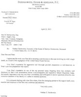 clients letter