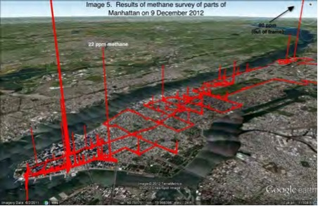 Results of Methane Survey 2012