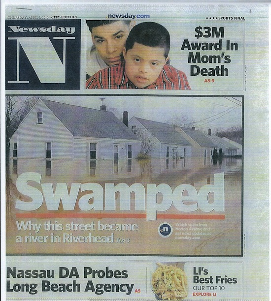 Newsday Front-page