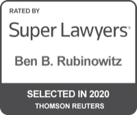 Ben Rubinowitz Super Lawyers 2020