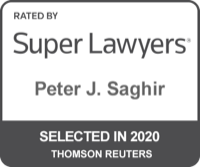 Peter J. Saghir Super Lawyers 2020