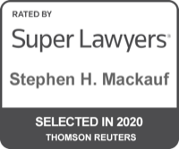 Stephen H. Mackauf Super Lawyers Selected 2020