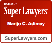 Rated by Super Lawyers: Marijo C. Adimey